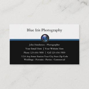 Beruflicher Fotograf-moderne Geschäfts-Karten Visitenkarte