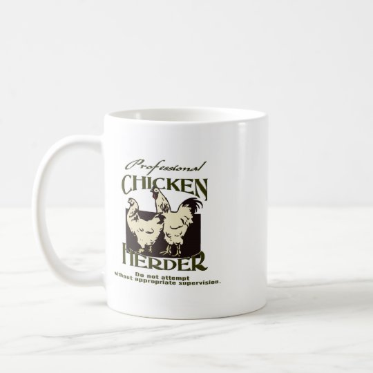 Beruflicher HuhnHerder Kaffeetasse
