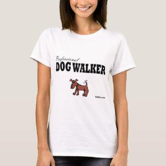 Beruflicher Hundewanderer T-Shirt