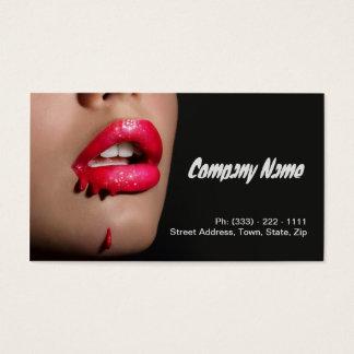 Beruflicher Make-upkünstler/Make-upmodell Visitenkarte