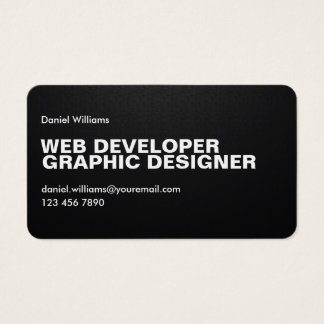 Beruflicher minimaler einzigartiger Pixelated Visitenkarte