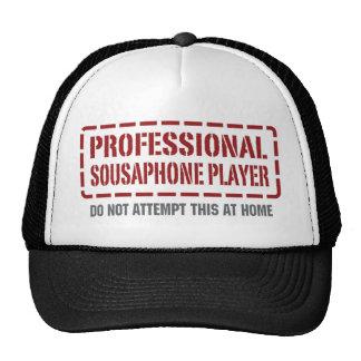 Beruflicher Sousaphone-Spieler Retrokultkappe