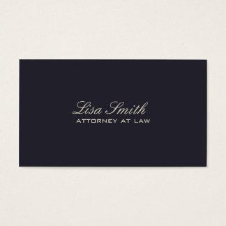 Berufliches elegantes einfaches einfaches visitenkarten