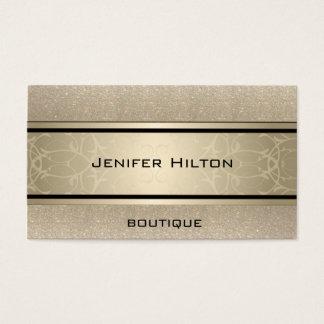 Berufliches elegantes modernes Luxusglittery Visitenkarten