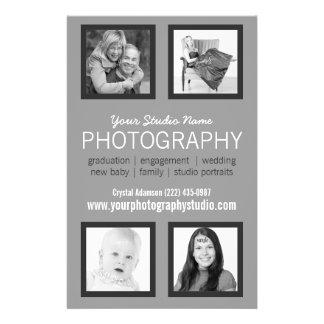 Berufliches Fotograf-Geschäfts-Mitteilungsblatt Flyer