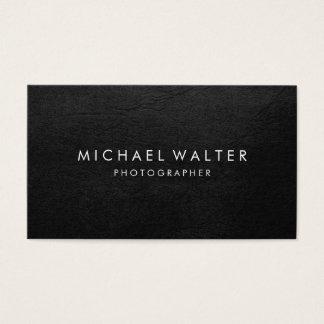 Berufliches unbedeutendes Imitat-Leder Visitenkarte