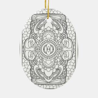 Beruhigen Sie unten nr 3 Keramik Ornament