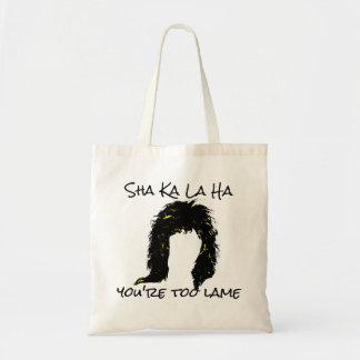 berühmte Misheard 80er Sha-Ka-La-ha Felsen-Texte Budget Stoffbeutel
