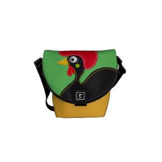 Berühmter Hahn von Barcelos 01 Kurier Tasche