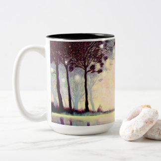 Beschaffenheit der Wirklichkeits-Tasse Zweifarbige Tasse