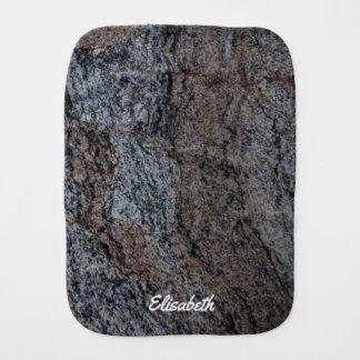 Beschaffenheits-Namensteinbaby des Granits rotes Spucktuch