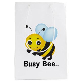 Beschäftigte Biene Mittlere Geschenktüte