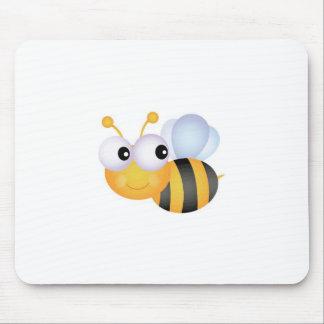 Beschäftigte Biene Mousepads
