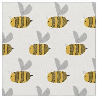 Beschäftigte Hummelbienen Stoff