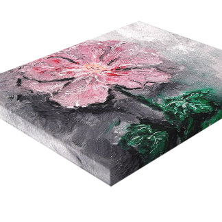 Beschatteter Blumenblatt-Öl-Leinwand-Druck Leinwanddrucke