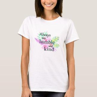 Bescheidene und nette christliche Shirts für