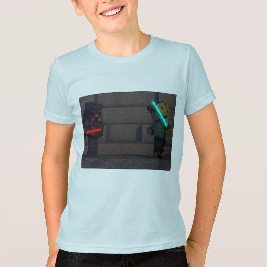 Beschmutzen Sie das Ocelotblaulogo T-Shirt