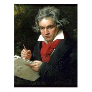 Beschreibungs-Ludwig van Beethoven (17701827) auf Postkarte