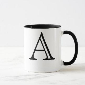 Beschriften Sie eine Tasse