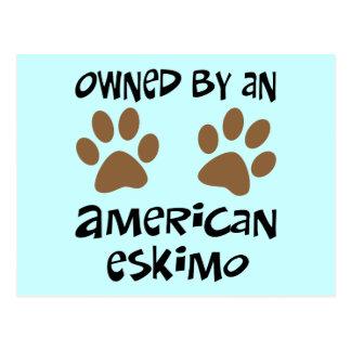 Besessen durch einen amerikanischen Eskimo Postkarte