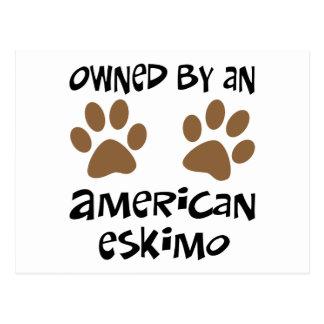Besessen durch einen amerikanischen Eskimo Postkarten