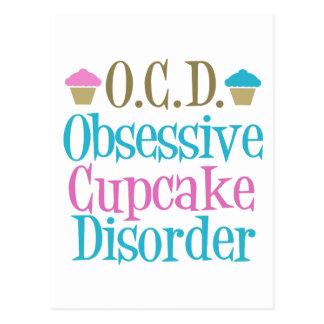 Besessene Kuchen-Störung Postkarte