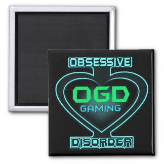 Besessene Spiel-Störung OGD Quadratischer Magnet