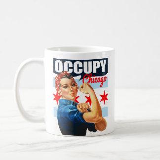 Besetzen Sie Chicago Rosie die Kaffeetasse