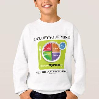 Besetzen Sie Ihren Verstand mit diätetischen Sweatshirt
