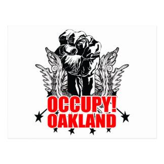 Besetzen Sie Oakland Postkarten