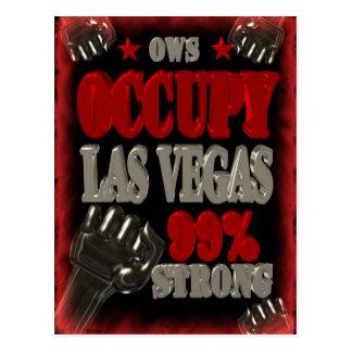 Besetzen Sie Protest Las Vegass OWS 99 Prozent Postkarten