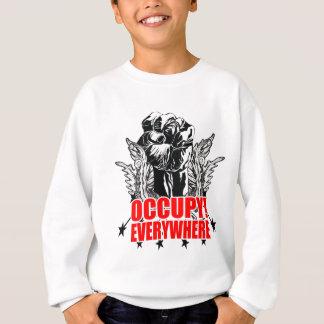 Besetzen Sie überall Sweatshirt