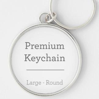 Besonders angefertigt ringsum Foto Keychain Schlüsselanhänger
