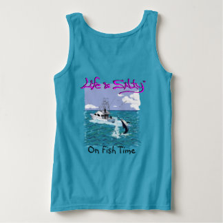 Besonders angefertigt, Shirt für sie fischend!