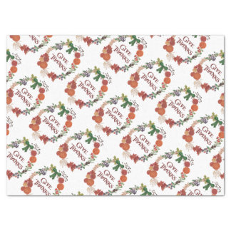 Besonders anzufertigen Erntedank-HerbstWreath Seidenpapier