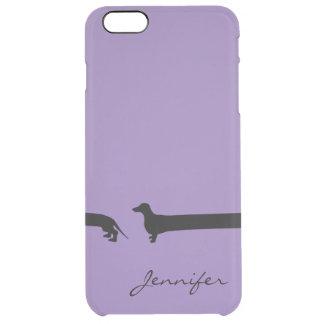 Besonders langer Dackel iphone 6 Fall Durchsichtige iPhone 6 Plus Hülle