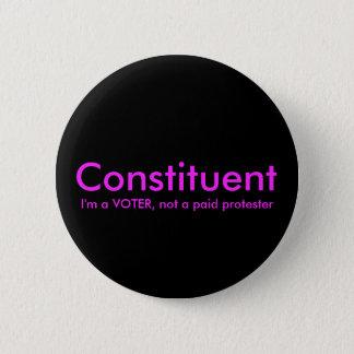 Bestandteil nicht ein zahlender runder button 5,7 cm