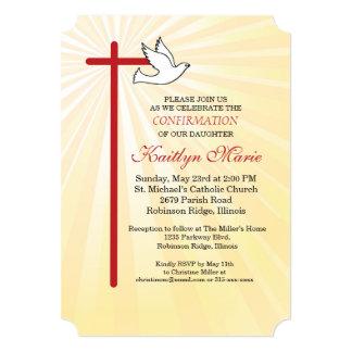 Bestätigungs-Einladungs-Kreuz-u. Karte