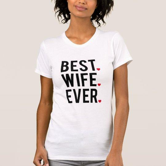 Beste Ehefrau überhaupt T-Shirt