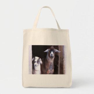 Beste Freund-Ziegen-Tasche Tragetasche