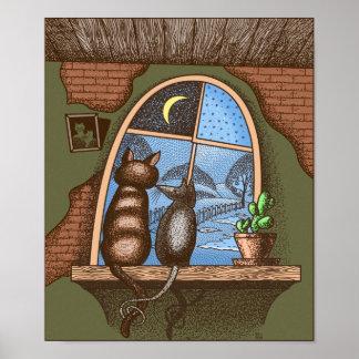 Beste Freunde für immer, Katze und Maus, Poster