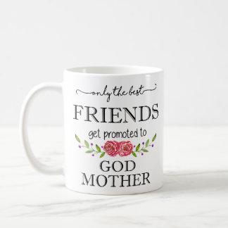 Beste Freunde gefördert zur Gott-Mutter Kaffeetasse