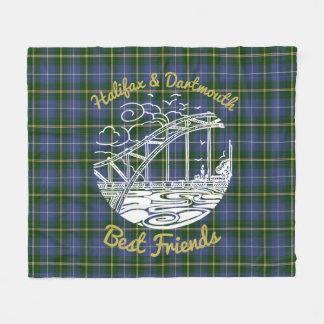 Beste Freunde Halifaxes Dartmouth N.S. umfassender Fleecedecke