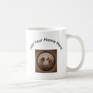 Beste Freunde, niedliche Kängurus Tasse