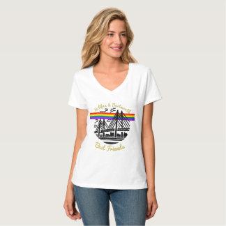 Beste Freunde Stolz-Neuschottlands Halifax T-Shirt