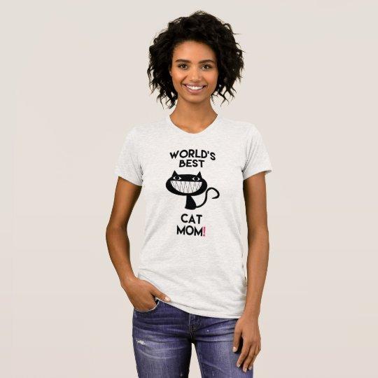 Beste Katzenmamma der Welt! Spaß-T - Shirt