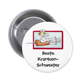 Buttons mit Krankenschwester-Designs bei Zazzle