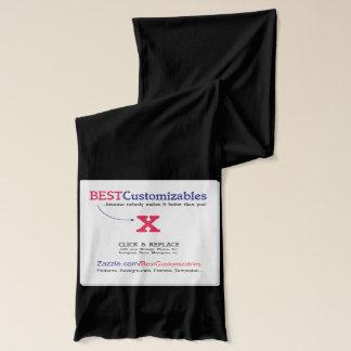 Beste kundengerechte Geschenk-Schablone Schal