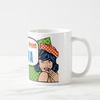 Beste Mädchen sind von Ottawa Kaffeetasse