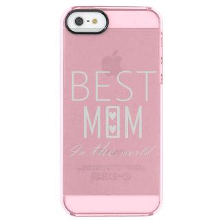 BESTE MAMMA IN DER WELT IPHONE DURCHSICHTIGE iPhone SE/5/5s HÜLLE